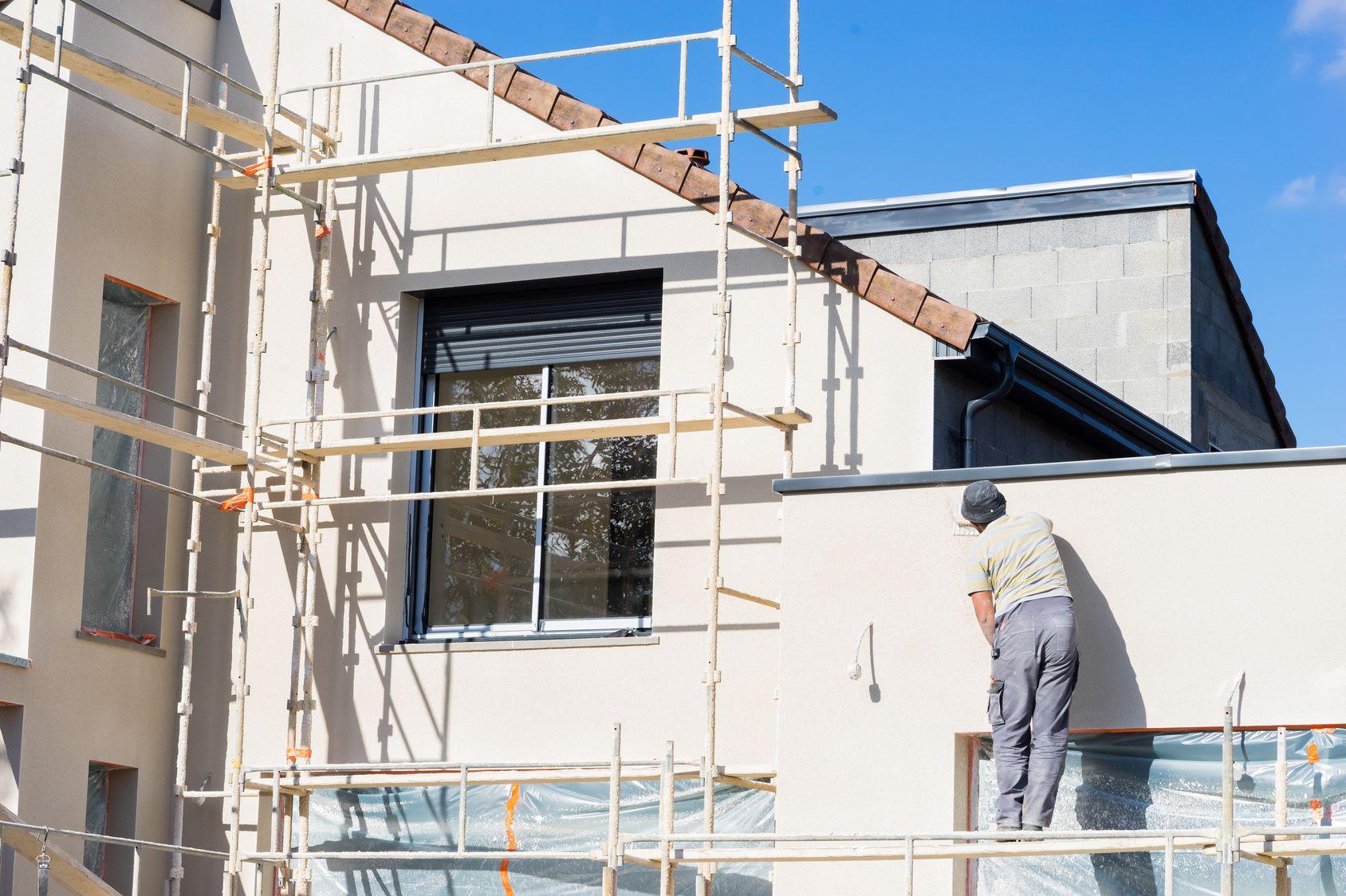 preparation ravalement de facade