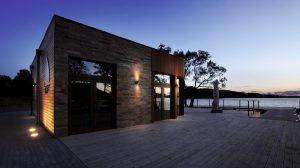éclairage façade maison
