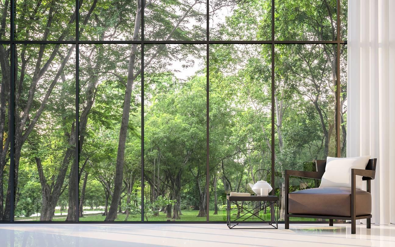 baie vitrée originale