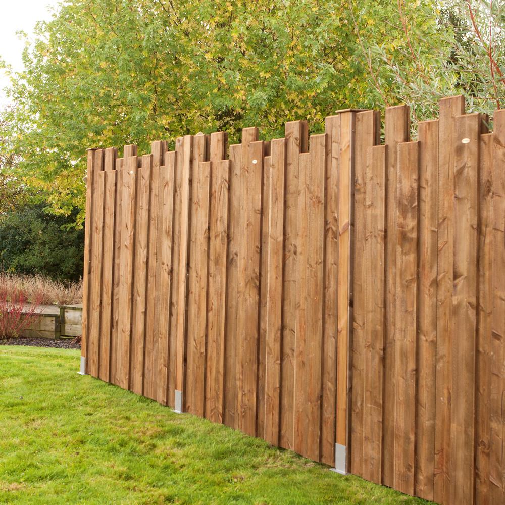 clôture en bois devis