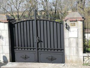 devis portail sur mesure