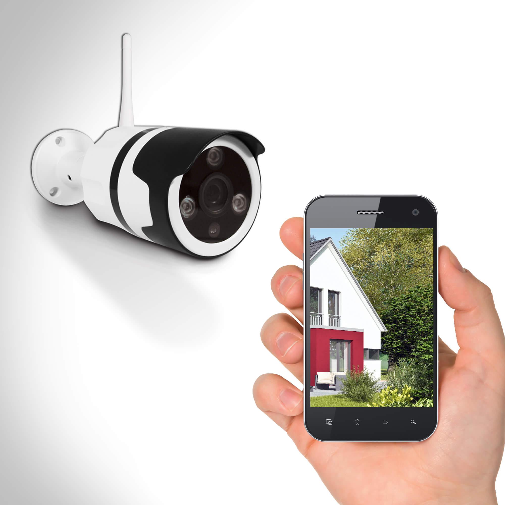 qu'est-ce qu'une caméra surveillance distance sur smartphone