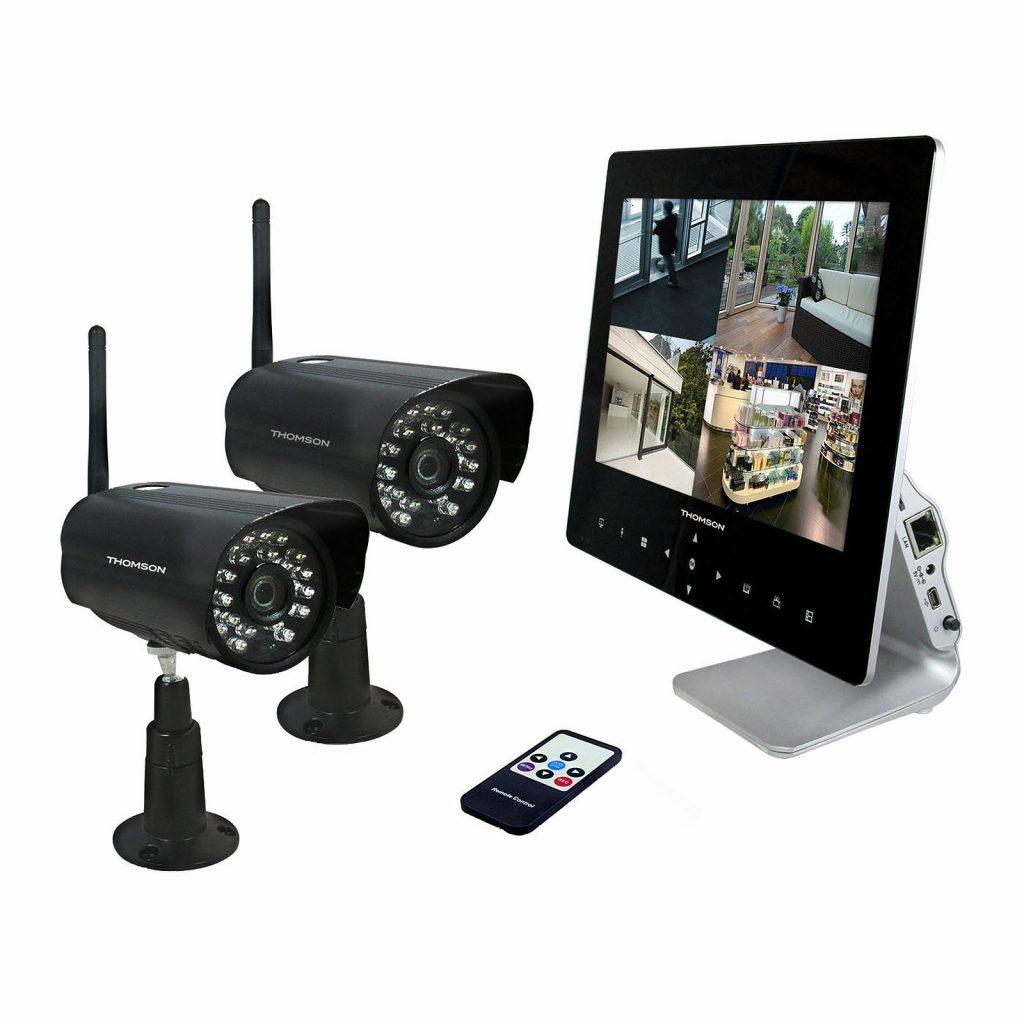 devis caméra de surveillance avec écran
